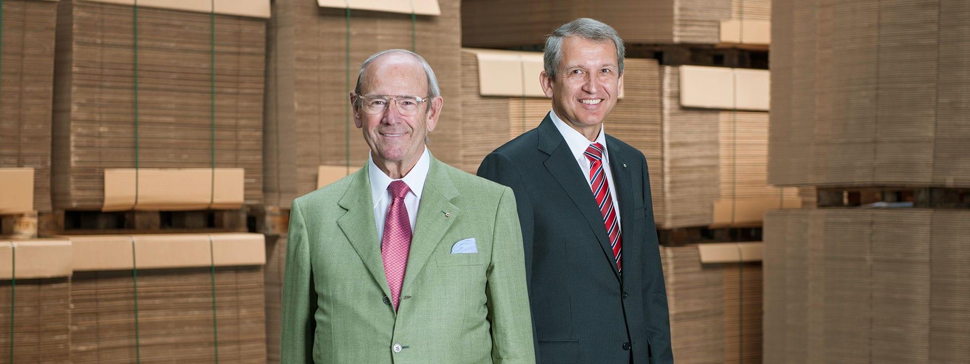 Alwin J. Kolb et Dr.-Ing. Bernhard Ruffing